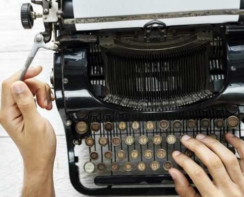 الفبای نویسندگی