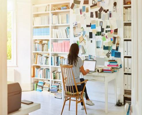 استرس ناشی از شاغل بودن در خانه