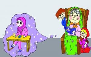 قصه کودکانه برای خواب