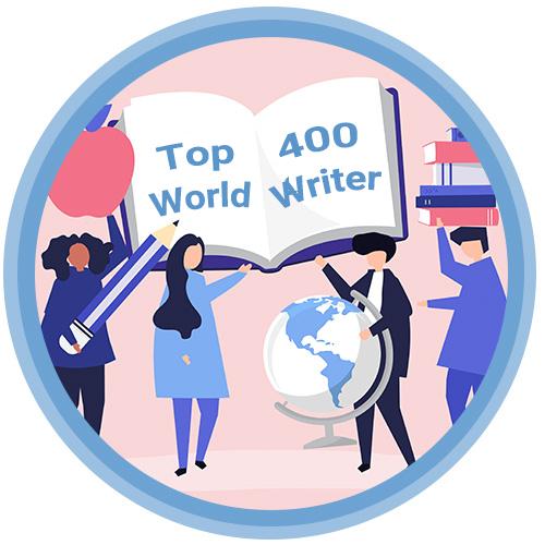 محمدرضا تیموری 400 نویسنده برتر جهان